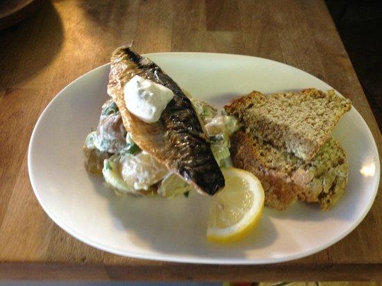 New Society: mackerel salad