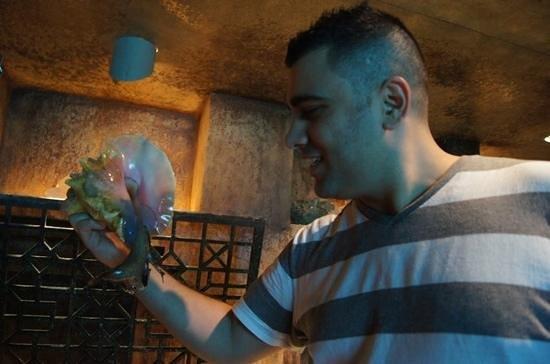 Marine Habitat at Atlantis: conch