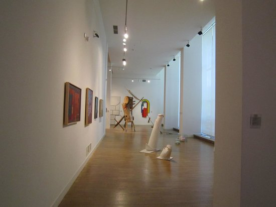 National Museum : Examples of the contemporary Polish art scene