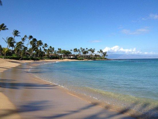 Napili Kai Beach Resort: The beautiful lagoon