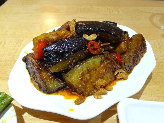 Rasa Sayang: Eggplant with Enchovies