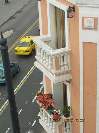 Hotel Real Audiencia : Vista de parte de la Plaza