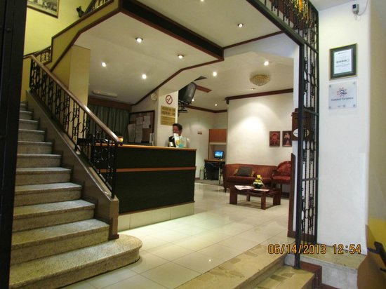 Hotel Real Audiencia : Lobby del hotel, muy colonmial