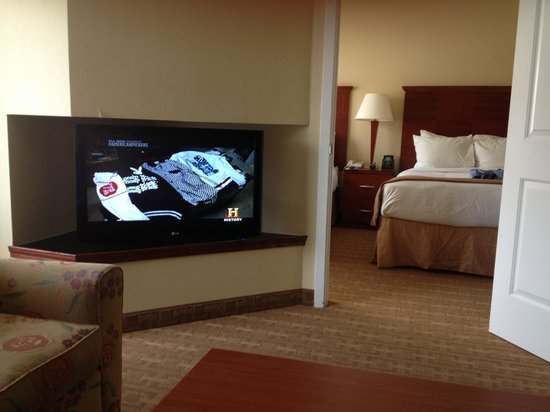 DoubleTree Suites by Hilton Indianapolis-Carmel: Big room