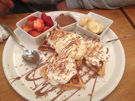 Cacao 70 : Chocnut waffle