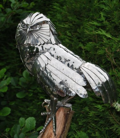 The Mill at Gordleton: Metal Art Work, wonderful...