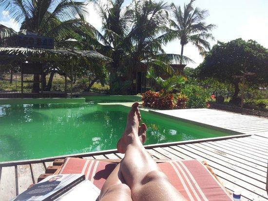 Mozambeat Motel: Zwembad