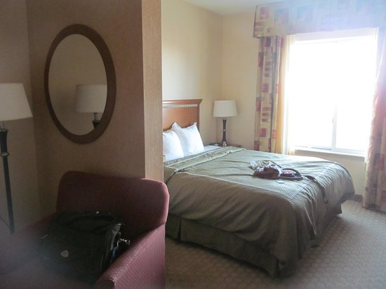 Comfort Suites Prescott Valley: comfy king size bed