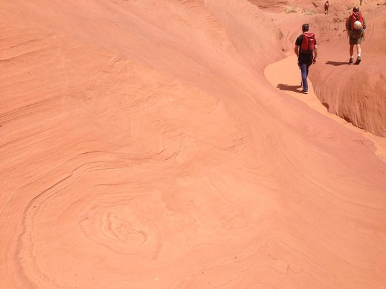 Excursions of Escalante: The swirly beauty of Navajo sandstone.