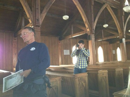 Trinity Historical Walking Tours: Mr. Toope in the Anglican Church.
