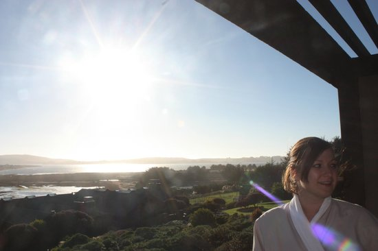 Bodega Bay Lodge: View from our second floor room