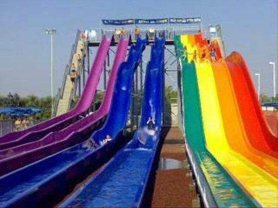 Holon, Israel: colorful slides