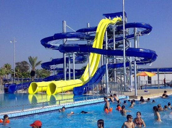 Holon, Israel: Spiral slides