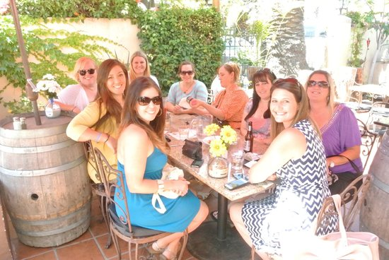 Captain Jack's Santa Barbara Tours: Our stop for lunch