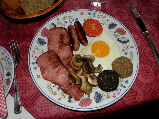 Fern Rock Bed & Breakfast: irish Breakfast