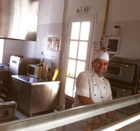 Al Fresco: The Chef at work!