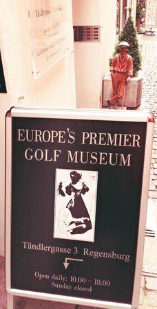Golf Museum : Entrada