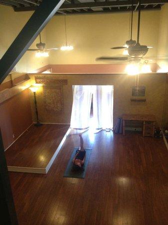 Malama Healing Arts Center: The yoga and dance studio at Malama