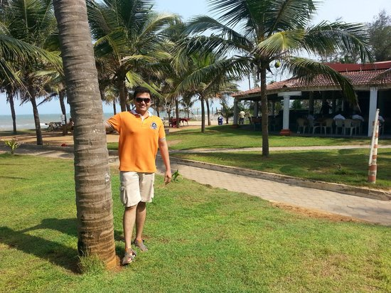 Mamalla Beach Resort : By beach