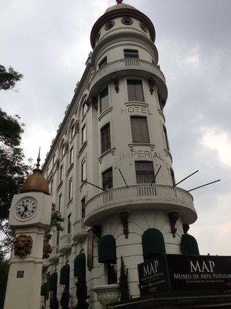 Hotel Imperial Reforma: La fachada