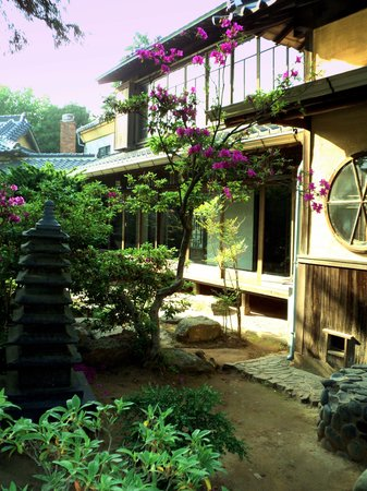 Gunsan, Coréia do Sul: Hirotsu House - Garden