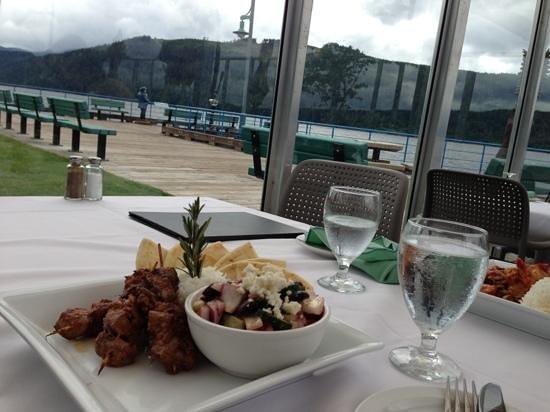 Starboard Grill: Lamb Brochettes