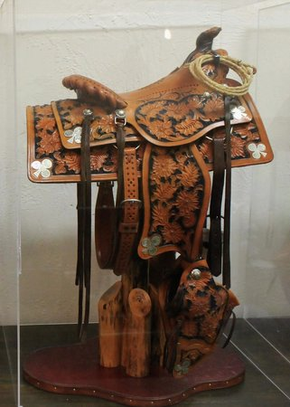 Pendleton Underground Tour: Duff Severe Miniature saddle display is great