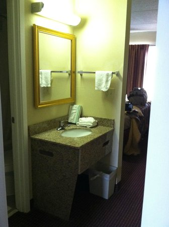 Red Roof Inn & Suites Pigeon Forge - Parkway: Bathroom