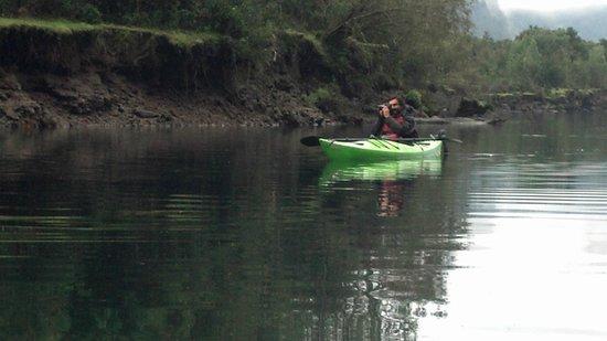 Hostal Maura: paseo en kayak con el dueño del hostal