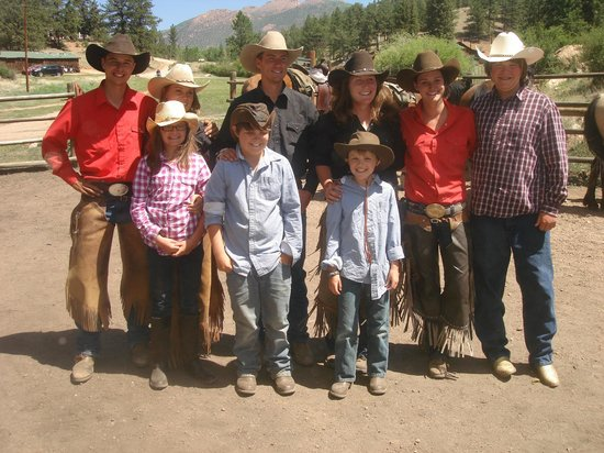 Tarryall River Ranch: Wranglers and my Grandkids.
