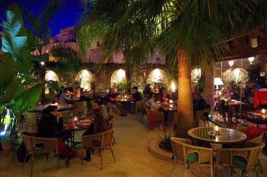 Restaurant int rieur picture of hotel la casa del califa hotel vejer de la frontera - El jardin del califa vejer de la frontera ...