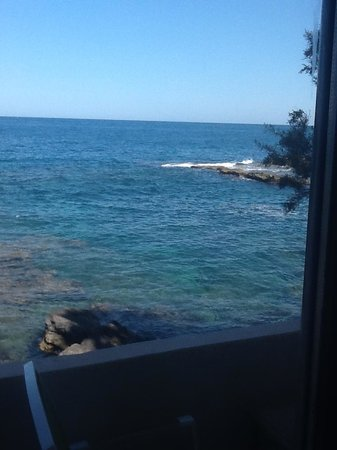 Giuggiulena Bed and Breakfast: The view from the patio eating breakfast