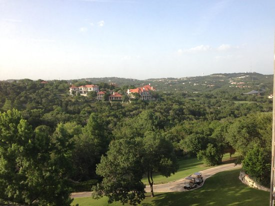 Omni Barton Creek Resort & Spa: View from room window - Room 351