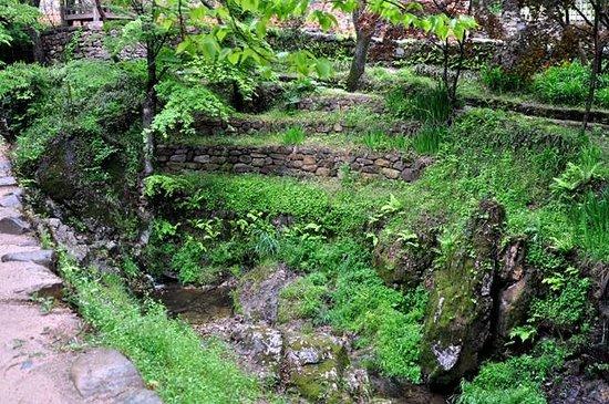 Soswaewon: view of the stream from Gwangpunggak