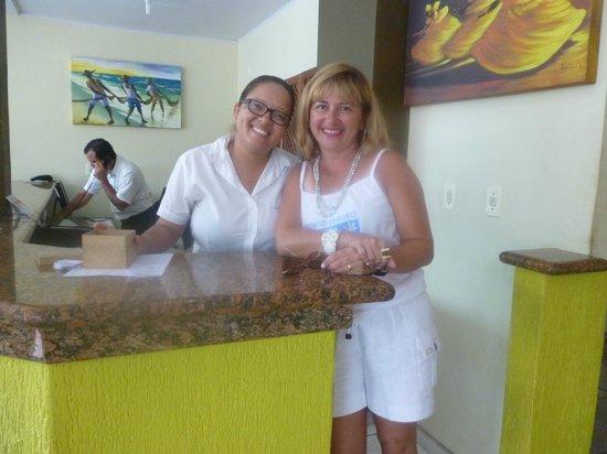 Praia Mar Hotel: pessoal da recepção super atenciosos