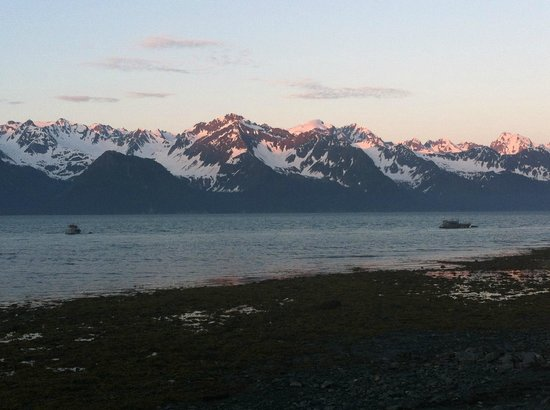 Alaska Paddle Inn : View from across the road