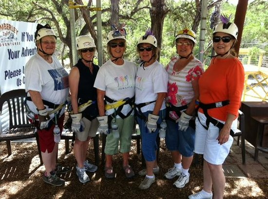 "Wimberley Zipline Adventures: Ready to ""Harness Our Fears"""
