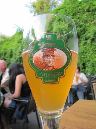 Zillemarkt: The restaurant's own brewed beer.