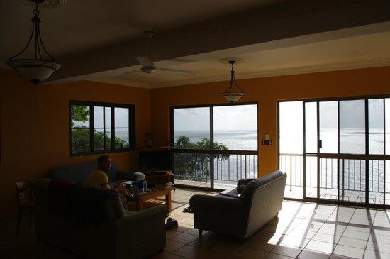 A Villa Gail: living room