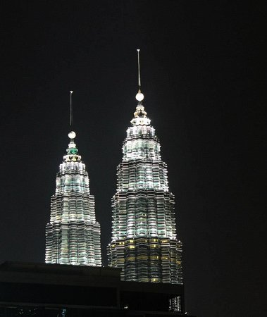 Tanzini : View - The only visible part of KLCC