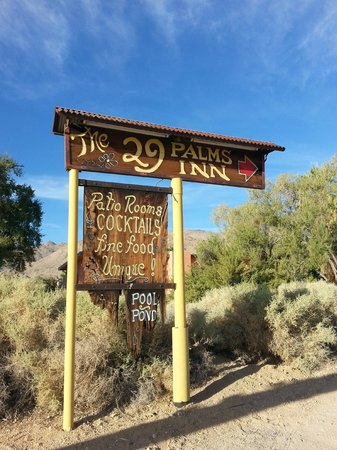 29 Palms Inn: Welcome!