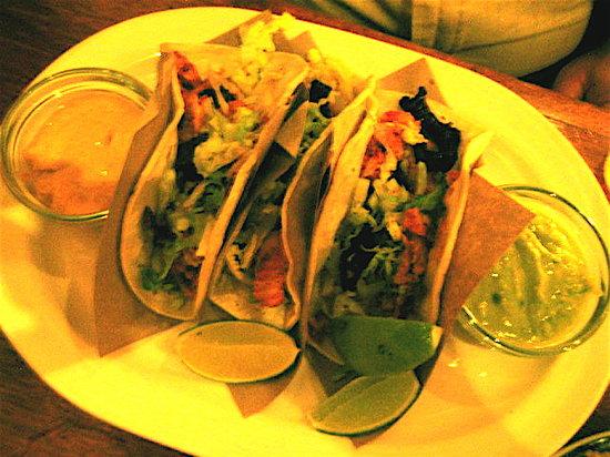 La Palapa : Fish tacos