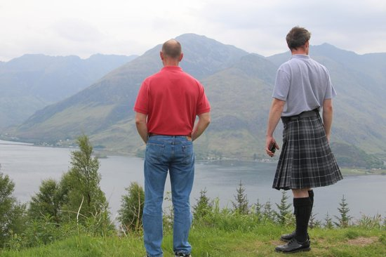 Discreet Scotland Day Tours : A beautiful and remote highlands vantage point