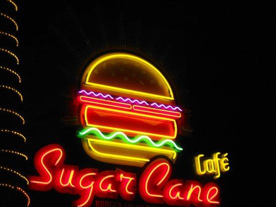 SugarCane Cafe: Just got  the logo, too dark....