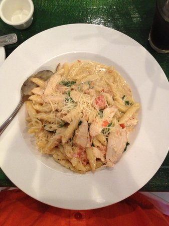 Dish : Pasta with Fresh Spinach