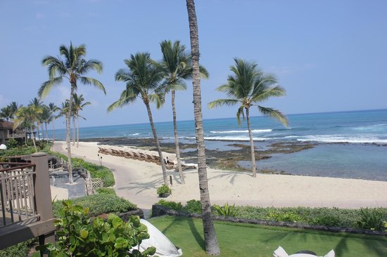 Four Seasons Resort Hualalai: View from our room