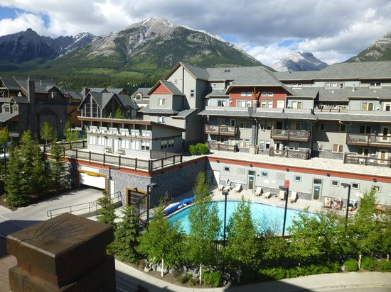 The Lodges at Canmore: View from our balcony