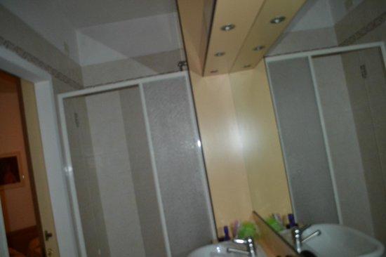 Hotel Park Venezia: душевая кабинка