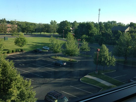 Marriott Hartford/Windsor Airport: View from the room