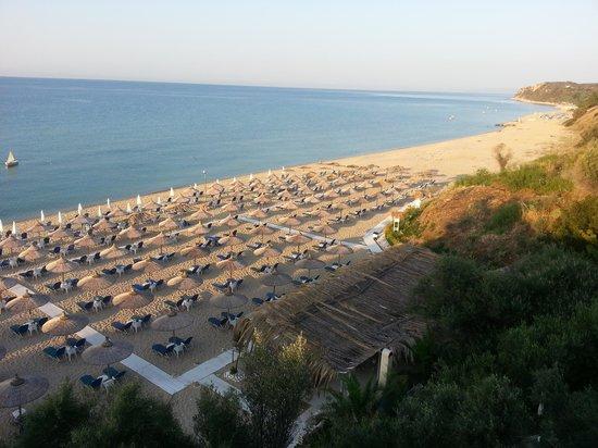 Oceanview Beach Hotel: Beach area